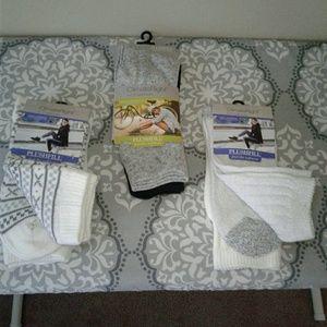 CuddleDuds Supersoft Crew Socks